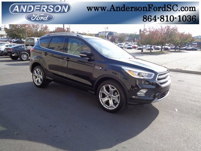 2019 Ford Escape Titanium EcoBoost 2.0L I4 GTDi DOHC Turbocharged VCT Engine 4 Door FWD SUV Automatic