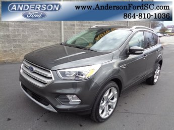 2019 Magnetic Metallic Ford Escape Titanium SUV FWD EcoBoost 2.0L I4 GTDi DOHC Turbocharged VCT Engine Automatic