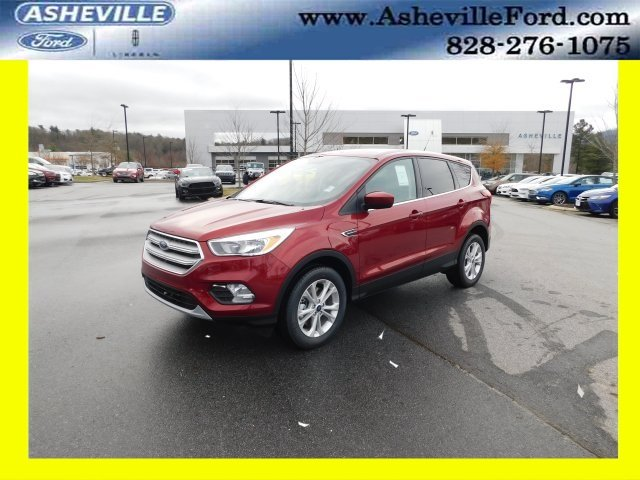 2019 Ruby Red Metallic Tinted Clearcoat Ford Escape SE EcoBoost 1.5L I4 GTDi DOHC Turbocharged VCT Engine Automatic SUV