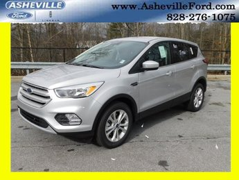 2019 Ingot Silver Metallic Ford Escape SE 4X4 Automatic EcoBoost 1.5L I4 GTDi DOHC Turbocharged VCT Engine