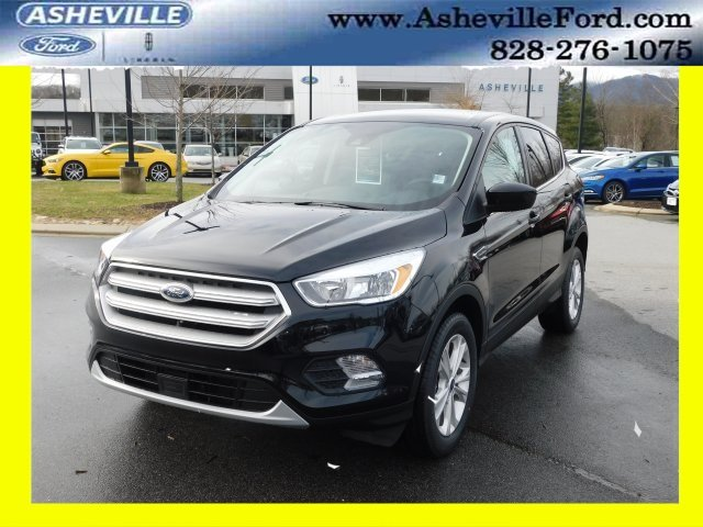 2019 Agate Black Metallic Ford Escape SE 4 Door Automatic 4X4 EcoBoost 1.5L I4 GTDi DOHC Turbocharged VCT Engine SUV
