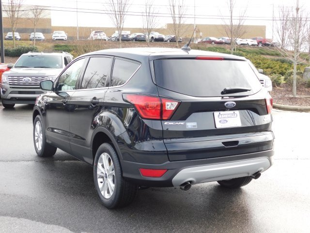 2019 Agate Black Metallic Ford Escape SE 4X4 SUV Automatic 4 Door EcoBoost 1.5L I4 GTDi DOHC Turbocharged VCT Engine