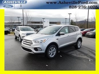 2019 Ingot Silver Metallic Ford Escape SE Automatic EcoBoost 1.5L I4 GTDi DOHC Turbocharged VCT Engine 4X4