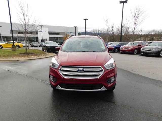 2019 Ruby Red Metallic Tinted Clearcoat Ford Escape SEL 4X4 SUV Automatic 4 Door EcoBoost 1.5L I4 GTDi DOHC Turbocharged VCT Engine