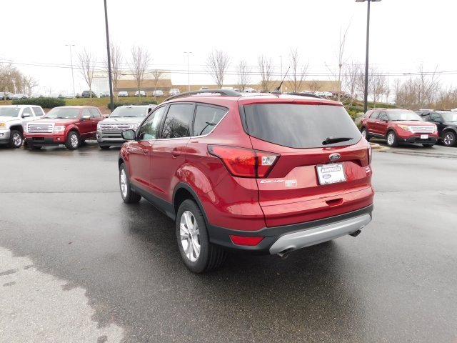 2019 Ford Escape SEL EcoBoost 1.5L I4 GTDi DOHC Turbocharged VCT Engine 4 Door Automatic SUV