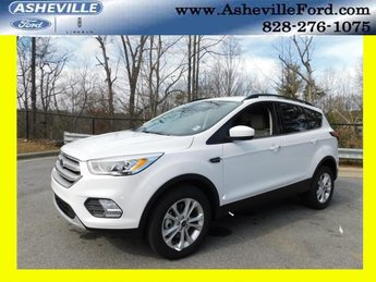 2019 Oxford White Ford Escape SEL Automatic SUV 4 Door EcoBoost 1.5L I4 GTDi DOHC Turbocharged VCT Engine 4X4