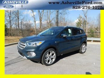 2019 Ford Escape Titanium 4X4 EcoBoost 2.0L I4 GTDi DOHC Turbocharged VCT Engine Automatic SUV