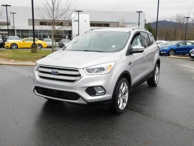 2019 Ingot Silver Metallic Ford Escape Titanium 4 Door 4X4 Automatic SUV EcoBoost 2.0L I4 GTDi DOHC Turbocharged VCT Engine