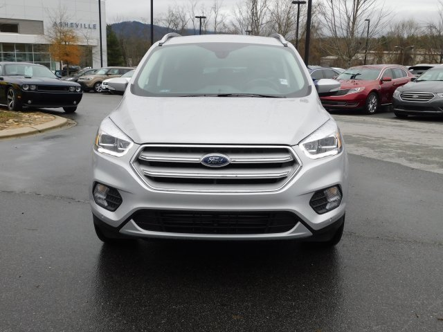 2019 Ingot Silver Metallic Ford Escape Titanium EcoBoost 2.0L I4 GTDi DOHC Turbocharged VCT Engine 4X4 SUV