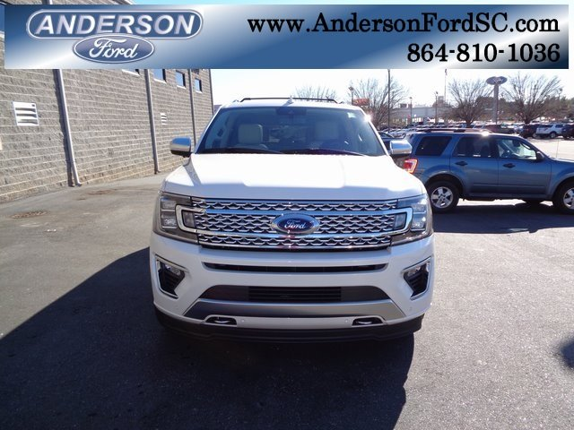 2019 Ford Expedition Max Platinum EcoBoost 3.5L V6 GTDi DOHC 24V Twin Turbocharged Engine 4 Door 4X4 Automatic SUV