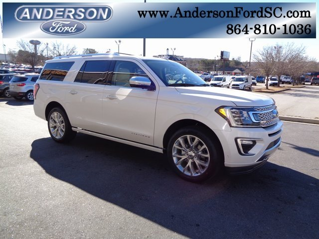 2019 Ford Expedition Max Platinum Automatic SUV 4 Door EcoBoost 3.5L V6 GTDi DOHC 24V Twin Turbocharged Engine 4X4