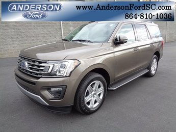 2019 Stone Gray Metallic Ford Expedition XLT 4 Door Automatic SUV EcoBoost 3.5L V6 GTDi DOHC 24V Twin Turbocharged Engine