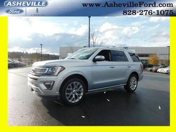 2018 Ingot Silver Metallic Ford Expedition Platinum 4X4 Automatic SUV