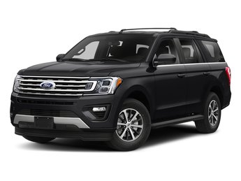 2018 Shadow Black Ford Expedition Platinum 4X4 SUV Automatic