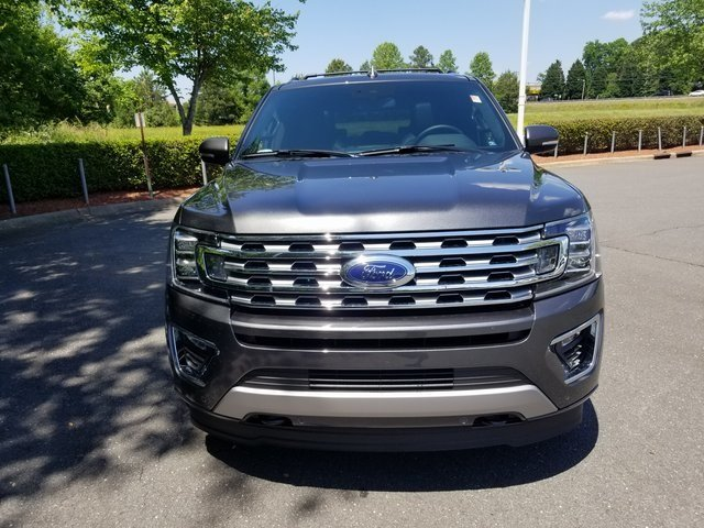 2018 Magnetic Metallic Ford Expedition Limited EcoBoost 3.5L V6 GTDi DOHC 24V Twin Turbocharged Engine 4 Door 4X4