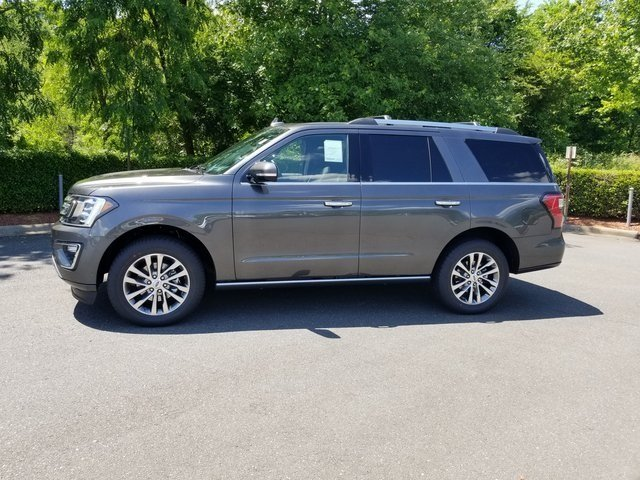 2018 Magnetic Metallic Ford Expedition Limited EcoBoost 3.5L V6 GTDi DOHC 24V Twin Turbocharged Engine Automatic 4X4 SUV 4 Door