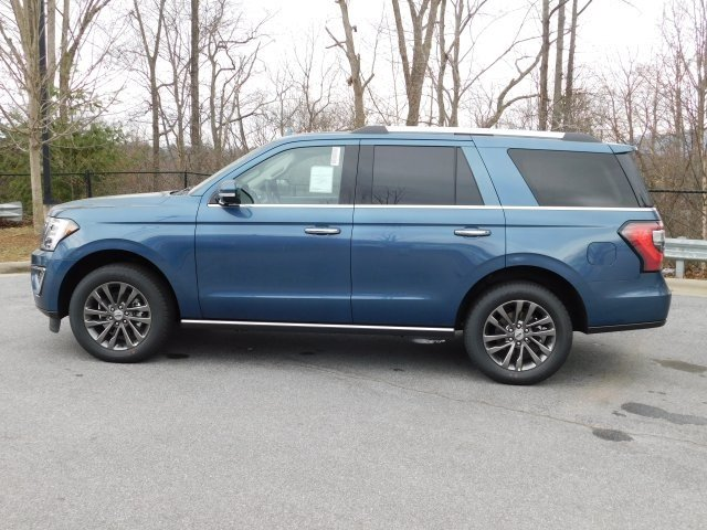2019 Blue Metallic Ford Expedition Limited EcoBoost 3.5L V6 GTDi DOHC 24V Twin Turbocharged Engine SUV 4 Door Automatic 4X4