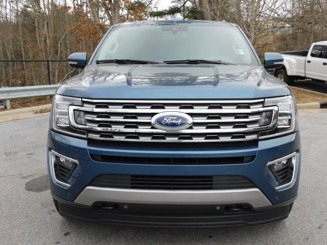 2019 Blue Metallic Ford Expedition Limited EcoBoost 3.5L V6 GTDi DOHC 24V Twin Turbocharged Engine SUV 4 Door 4X4