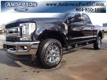2019 Agate Black Metallic Ford Super Duty F-250 SRW XLT Truck 6.2L SOHC Engine 4 Door Automatic 4X4