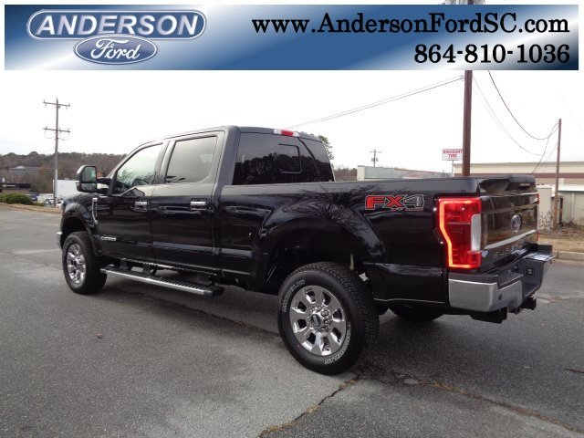 2019 Agate Black Ford Super Duty F-250 SRW Lariat 4X4 4 Door Automatic