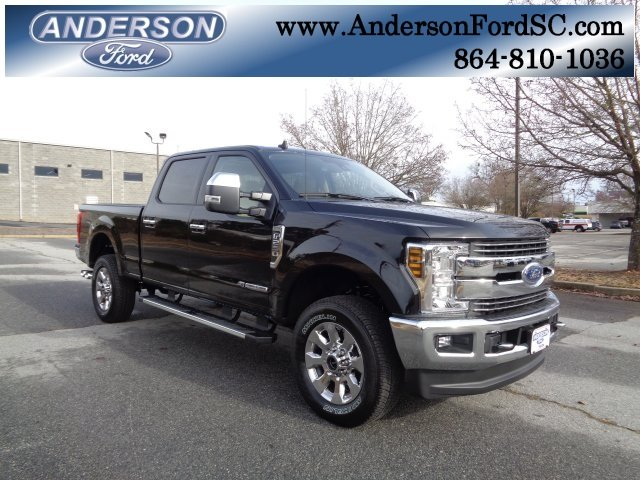 2019 Agate Black Ford Super Duty F-250 SRW Lariat Truck 4X4 Automatic Power Stroke 6.7L V8 DI 32V OHV Turbodiesel Engine 4 Door