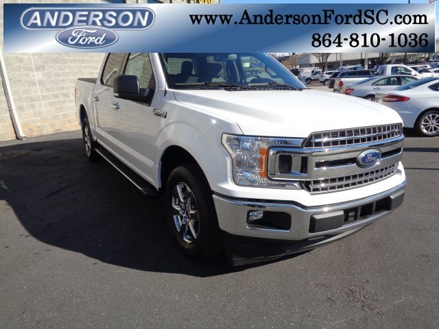 2019 Oxford White Ford F-150 XLT 4 Door Truck Automatic EcoBoost 2.7L V6 GTDi DOHC 24V Twin Turbocharged Engine