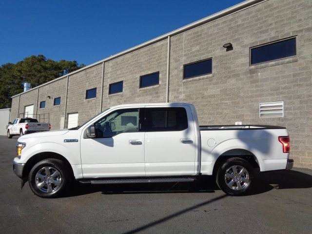 2019 Oxford White Ford F-150 XLT EcoBoost 2.7L V6 GTDi DOHC 24V Twin Turbocharged Engine Truck Automatic