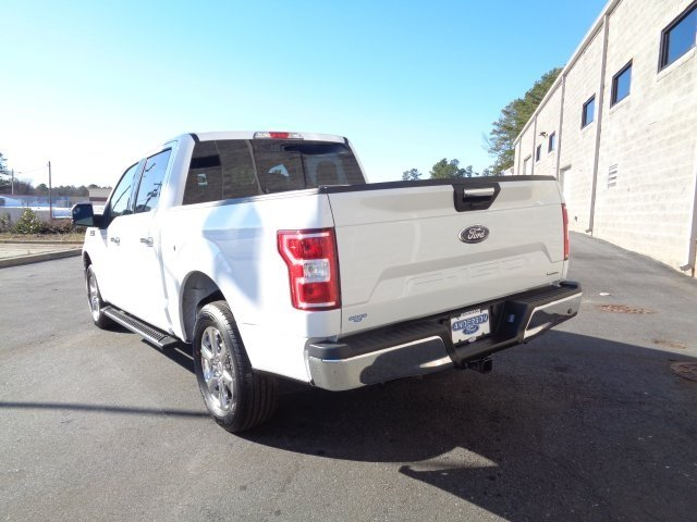 2019 Oxford White Ford F-150 XLT 4 Door EcoBoost 2.7L V6 GTDi DOHC 24V Twin Turbocharged Engine RWD Automatic Truck