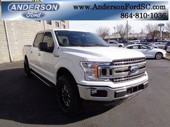 2018 Oxford White Ford F-150 XLT 4 Door EcoBoost 2.7L V6 GTDi DOHC 24V Twin Turbocharged Engine Truck RWD Automatic
