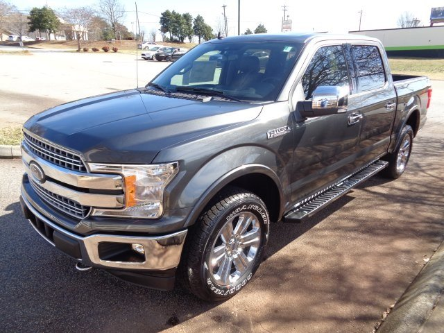 2019 Ford F-150 Lariat 4 Door Truck EcoBoost 3.5L V6 GTDi DOHC 24V Twin Turbocharged Engine 4X4 Automatic
