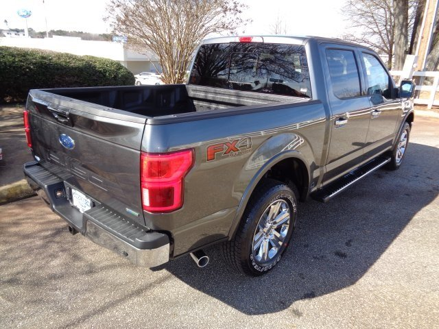 2019 Magnetic Metallic Ford F-150 Lariat 4X4 Truck 4 Door Automatic EcoBoost 3.5L V6 GTDi DOHC 24V Twin Turbocharged Engine