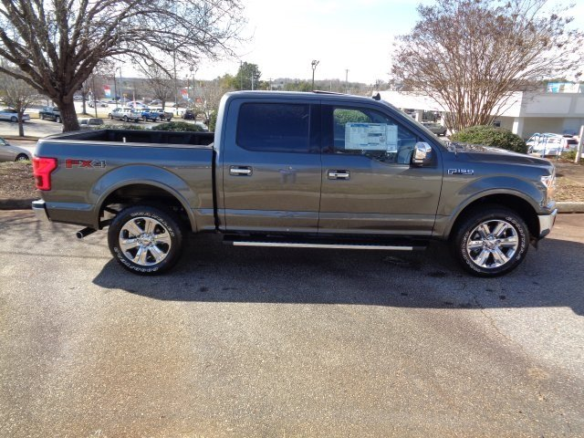 2019 Magnetic Metallic Ford F-150 Lariat 4 Door Automatic EcoBoost 3.5L V6 GTDi DOHC 24V Twin Turbocharged Engine