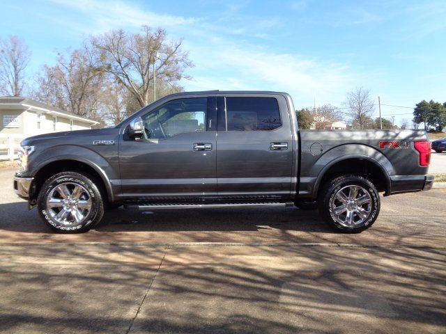 2019 Ford F-150 Lariat 4 Door Automatic EcoBoost 3.5L V6 GTDi DOHC 24V Twin Turbocharged Engine Truck 4X4