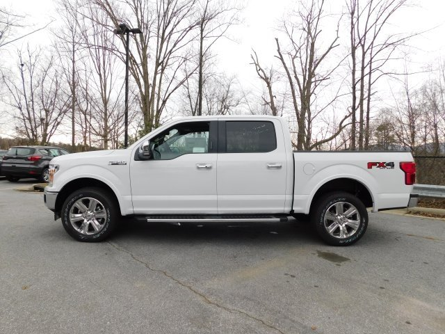 2019 Oxford White Ford F-150 Lariat EcoBoost 3.5L V6 GTDi DOHC 24V Twin Turbocharged Engine Truck 4X4 Automatic 4 Door