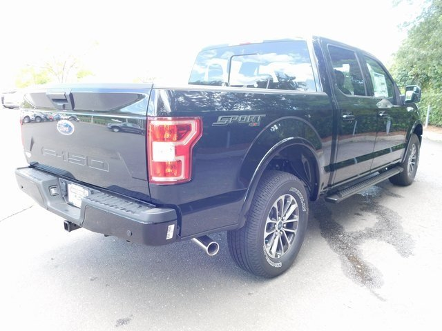 2018 Shadow Black Ford F-150 XLT Automatic Truck 4X4 5.0L V8 Ti-VCT Engine 4 Door