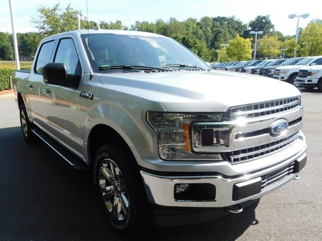 2018 Ingot Silver Metallic Ford F-150 XLT 5.0L V8 Ti-VCT Engine Automatic Truck
