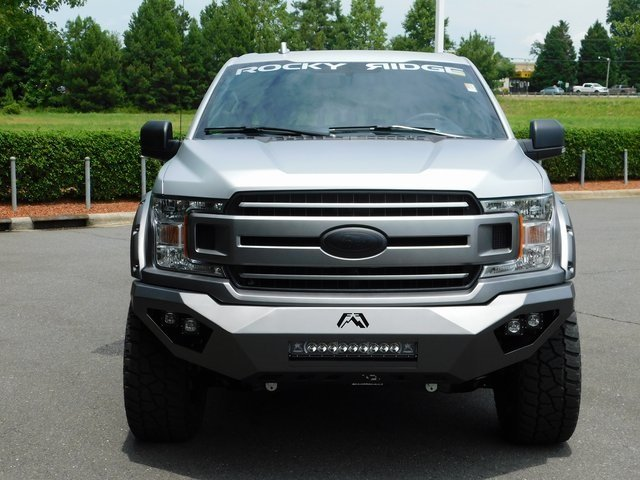 2018 Ingot Silver Metallic Ford F-150 XLT ROCKY RIDGE STEALTH 2.0 4 Door Automatic 5.0L V8 Ti-VCT Engine 4X4 Truck