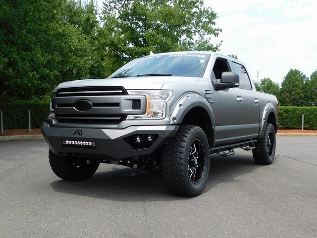 2018 Ingot Silver Metallic Ford F-150 XLT ROCKY RIDGE STEALTH 2.0 4 Door 4X4 5.0L V8 Ti-VCT Engine