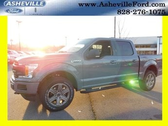 2019 Gray Metallic Ford F-150 XLT Truck 4X4 4 Door 5.0L V8 Ti-VCT Engine