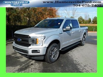 2018 Ingot Silver Metallic Ford F-150 XLT 4 Door 5.0L V8 Ti-VCT Engine 4X4