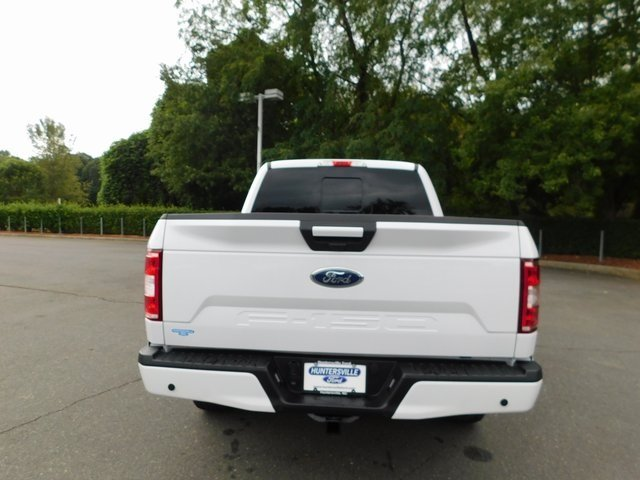2018 Oxford White Ford F-150 XLT 4X4 5.0L V8 Ti-VCT Engine Automatic