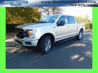 2018 Ingot Silver Metallic Ford F-150 XLT 4X4 Truck 4 Door EcoBoost 3.5L V6 GTDi DOHC 24V Twin Turbocharged Engine