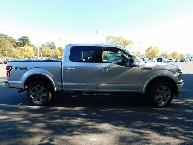 2018 Ingot Silver Metallic Ford F-150 XLT EcoBoost 3.5L V6 GTDi DOHC 24V Twin Turbocharged Engine 4X4 Automatic 4 Door Truck