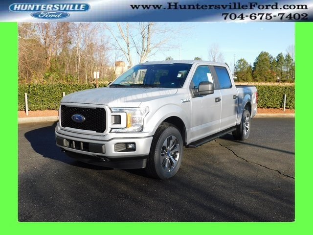 2019 Ingot Silver Metallic Ford F-150 XL Truck 4X4 EcoBoost 2.7L V6 GTDi DOHC 24V Twin Turbocharged Engine Automatic 4 Door