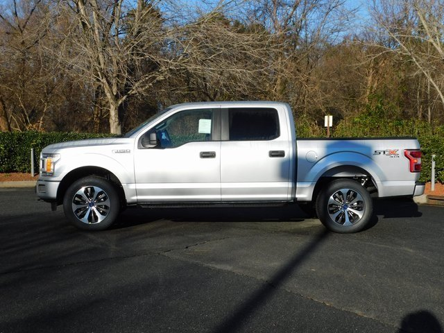 2019 Ingot Silver Metallic Ford F-150 XL 4X4 Automatic Truck 4 Door EcoBoost 2.7L V6 GTDi DOHC 24V Twin Turbocharged Engine