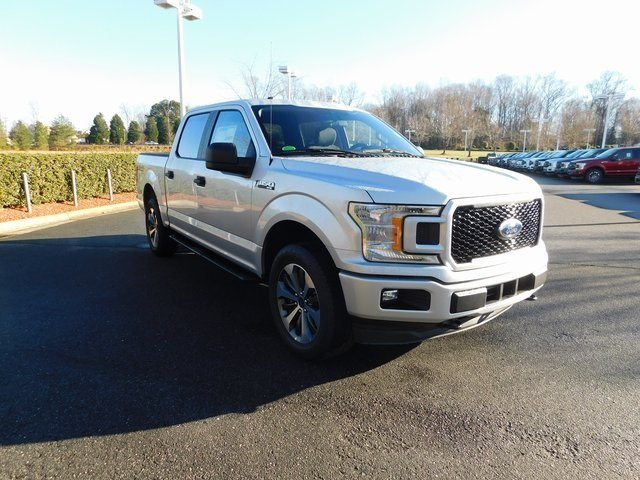2019 Ingot Silver Metallic Ford F-150 XL EcoBoost 2.7L V6 GTDi DOHC 24V Twin Turbocharged Engine Truck Automatic 4X4