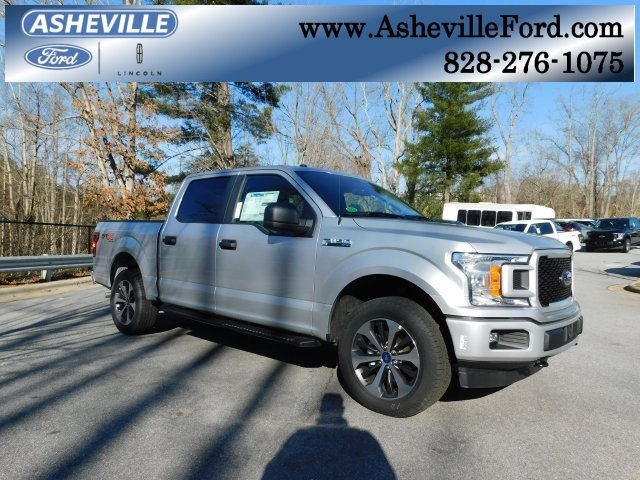 2019 Ingot Silver Metallic Ford F-150 XL EcoBoost 2.7L V6 GTDi DOHC 24V Twin Turbocharged Engine Automatic Truck 4X4