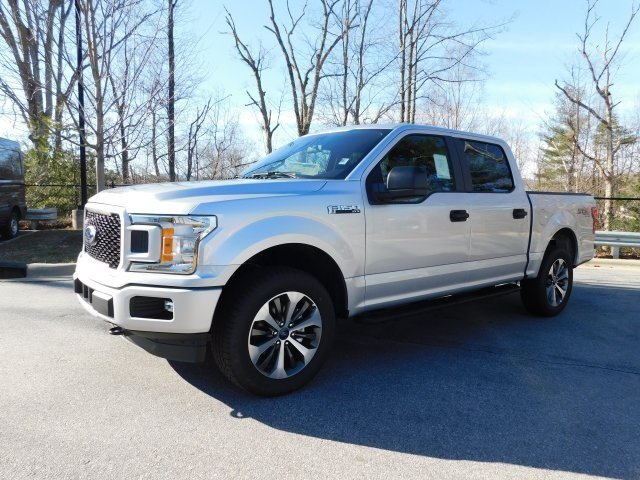 2019 Ingot Silver Metallic Ford F-150 XL Truck Automatic 4X4 EcoBoost 2.7L V6 GTDi DOHC 24V Twin Turbocharged Engine