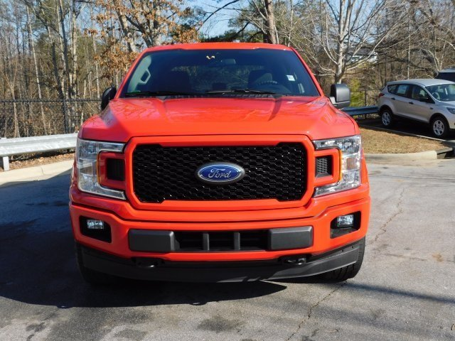 2019 Race Red Ford F-150 XL 4 Door EcoBoost 2.7L V6 GTDi DOHC 24V Twin Turbocharged Engine Automatic 4X4 Truck