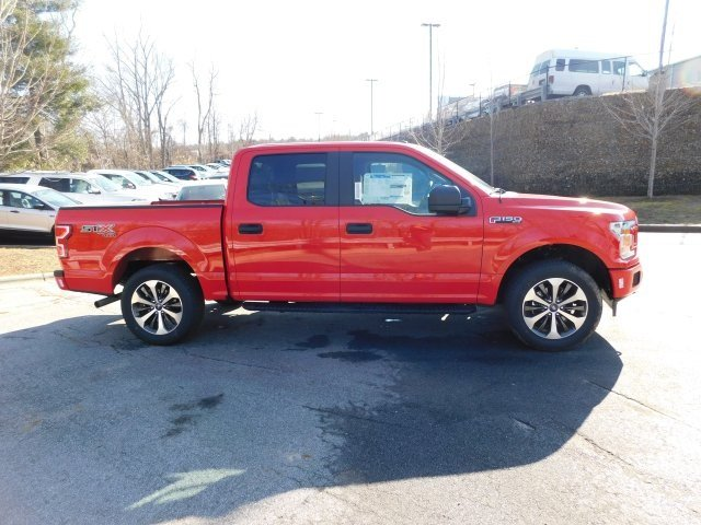 2019 Race Red Ford F-150 XL 4 Door Truck 4X4 Automatic EcoBoost 2.7L V6 GTDi DOHC 24V Twin Turbocharged Engine